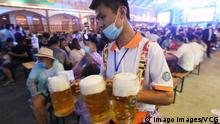 China | Oktobertfest | 30. Internationales Bierfestival in Qingdao (imago images/VCG)
