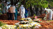 Brasilien Coronavirus Todesopfer | Friedhof Vila Formosa in Sao Paulo