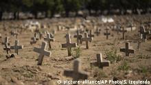 Brasilien Coronavirus Todesopfer | Friedhof Caju in Rio De Janeiro