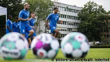 Deutschland Auftakt zum Trainingscamp für vertragslose Profifußballer