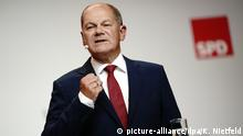 Sosyal Demokrat Parti'nin başbakan adayı Olaf Scholz