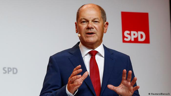 Menteri Keuangan Olaf Scholz