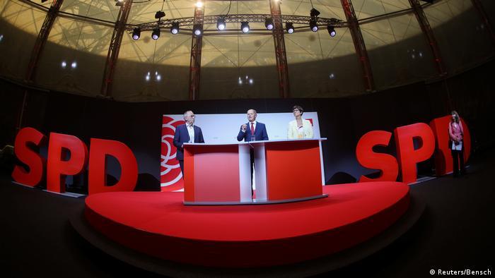 Deutschland | Bundesfinanzminister Olaf Scholz (SPD) | PK