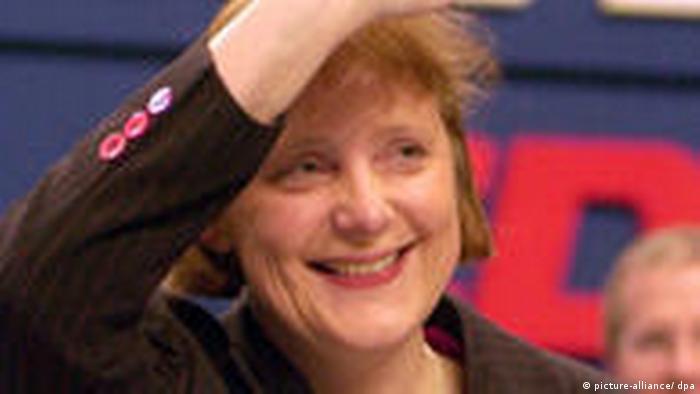 Angela Merkel CDU Vorsitz (picture-alliance/ dpa)