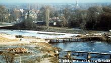 Deutschland Umweltverschmutzung in der DDR | Die Mulde bei Dessau 1990