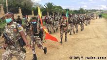 Äthiopien Militärparade in Tigray