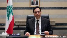 Libanon Beirut Premierminister Hassan Diab