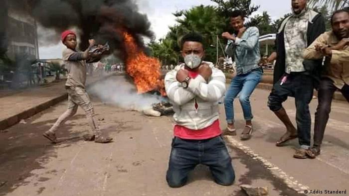 Äthiopien Proteste Wolita Zone