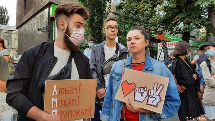 Ukrajinski aktivisti podržavaju prosvjednike u Bjelorusiji