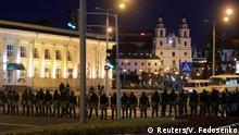 Belarus Gewalt nach Präsidentenwahl in Minsk
