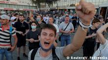 Belarus Proteste nach Präsidentschaftswahl