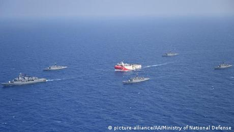 Τεταμένη η ατμόσφαιρα μεταξύ Ελλάδας - Τουρκίας στην Ανατολική Μεσόγειο
