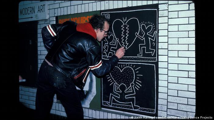 Essen | Ausstellung Keith Haring im Museum Folkwang (Keith Haring Foundation/Muna Tseng Dance Projects)