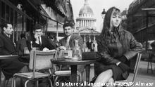 Symbolbild I Paris I Café I Parisienne I 1965