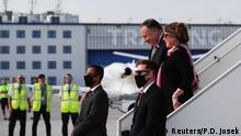 US-Außenminister Pompeo in Prag eingetroffen