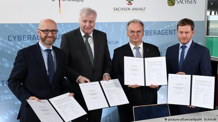 Deutschland Schkeuditz | Cyberagentur | Flughafen Halle/Leipzig