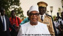 Mali Präsident Ibrahim Boubacar Keita
