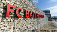 Deutschland München | FC Bayern Campus | Eingang