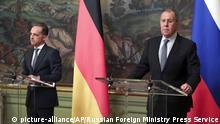 Russland: Außenminister Maas in Moskau