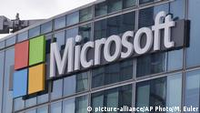 USA Microsoft Logo (picture-alliance/AP Photo/M. Euler)