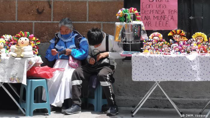 Mexiko   Coronakrise   Indigene Frauen (DW/M. Vázquez )