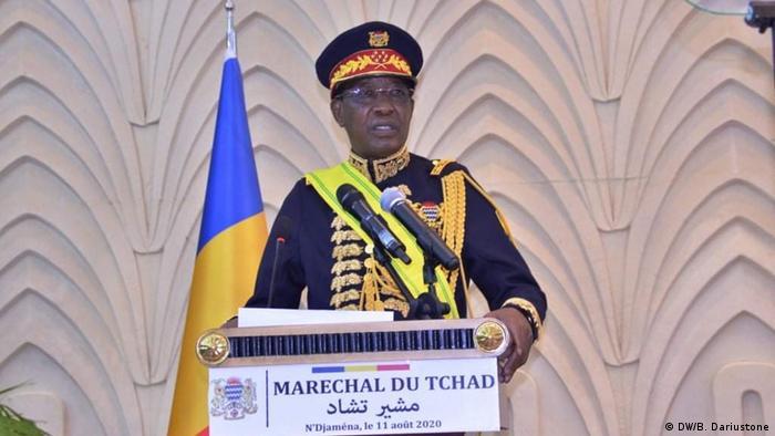 Tschad Präsident Idriss Deby Itno