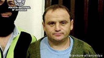 Veselin Vlahovic Verhaftung in Spanien