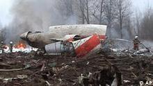 Flugzeugabsturz Smolensk mit Lech Kaczynski Präsident Polen