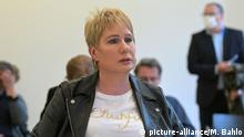Corinna May in court in July (picture-alliance/M. Bahlo)