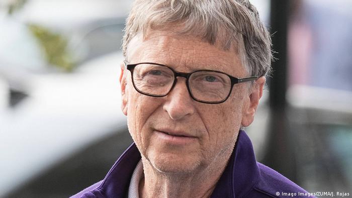 الملياردير الأمريكي والمؤسس المشارك لشركة مايكروسوفت العملاقة بيل غيتس