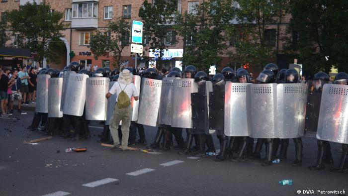 Акція протесту в Бресті