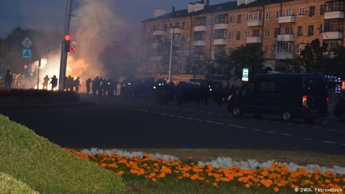 Міліція неодноразово застосовувала проти учасників протестів світлошумові гранати
