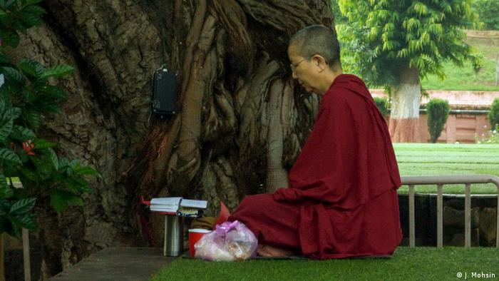 Indien   Buddhismus - Heiliger Ort in Bodh Gaya (J. Mohsin)
