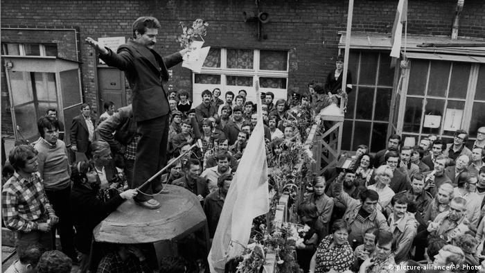 Polen Solidarnosc   Lech Walesa 1980