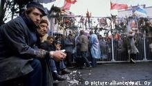 Polen Solidarnosc | Eingang zur Danziger Lenin-Werft 1980