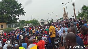 Cette grève s'ajoute à la Covid-19, en pleine crise politique au Mali