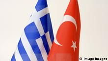 The Greek and Turkish flags