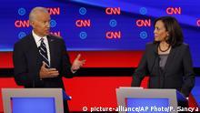 USA Kamala Harris Primaries Debatte mit Biden