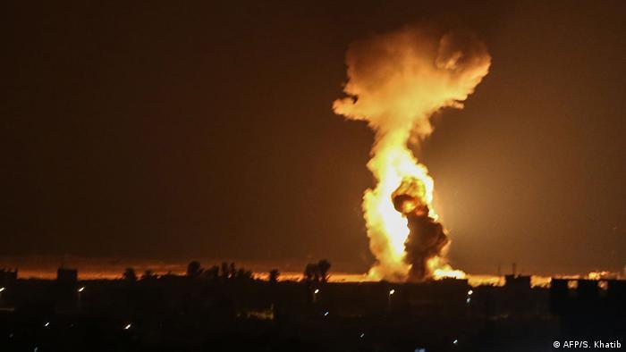Gazastreifen Rafah Luftangriff
