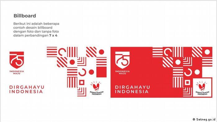 Melihat Makna Desain Hut Ke 75 Ri Yang Diprotes Ormas Di Solo Mirip Salib Indonesia Laporan Topik Topik Yang Menjadi Berita Utama Dw 12 08 2020