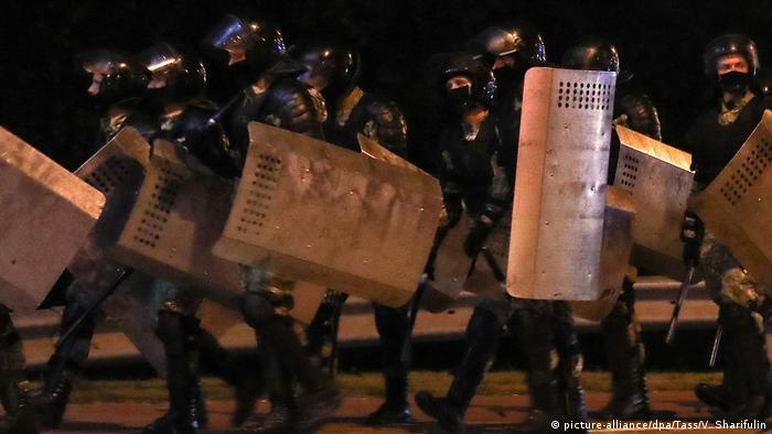 Милиция в Минске