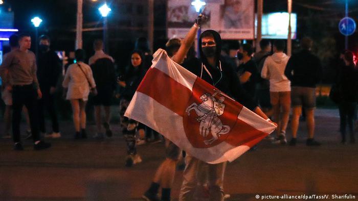 Протести у Мінську тривали третю добу поспіль.