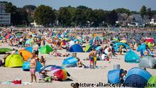 Coronavirus | Deutschland | Sommer an der Ostsee