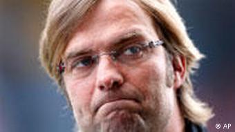 BVB-Coach Klopp nach der Niederlage an alter Wirkungsstätte. (Foto: apn Photo/Daniel Roland)
