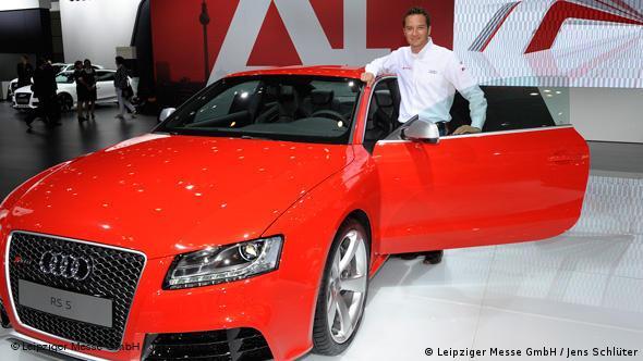 Большой интерес вызвала и немецкая премьера Audi RS5
