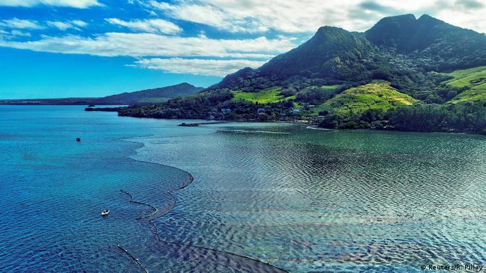 BG Mauritius droht Ölkatastrophe (Reuters/R. Pillay)