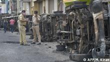 Indien Nach Unruhen in Bangalore