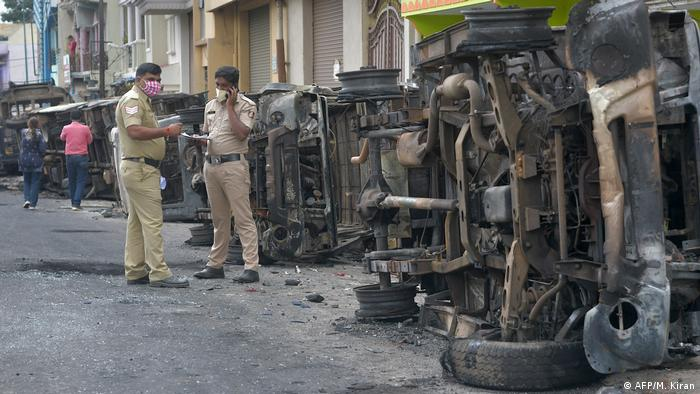Bangalore riots: India′s tech city sees deadly violence over anti ...