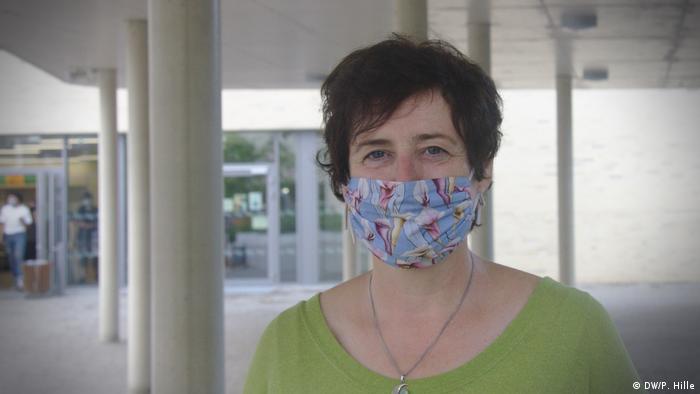 Ursula Dreeser, directoarea şcolii Bonns Fünfte (DW/P. Hille)