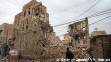 Jemen I Unwetter in Sanaa